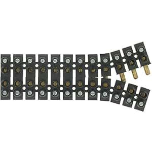 Legrand LEG98442 Borne de raccordement à broches suprême 25 A 2 Vis pour Borne Noir 10 mm