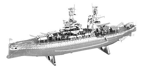 Fascinations mms097 - metal earth, modellino nave da guerra uss arizona