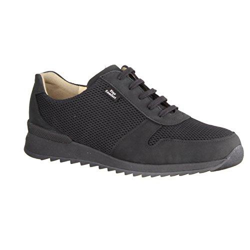 Cherokee Schuhe Für Frauen (Finn Comfort Sidonia Cherokee/Skipper (schwarz) - Schnürschuh mit Loser Einlage - Damenschuhe Schnürschuhe/lose Einlage, Schwarz, Leder (Patagonia/Doyle))