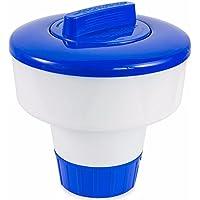 AmaMary Dispensador de Cloro para Piscina, 2018 Nuevo dispensador de desinfección química Flotante automático de 8 Pulgadas flotadores dosificadores para Piscinas y SPA