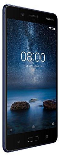 Nokia 8 (Tempered Blue, 64GB)