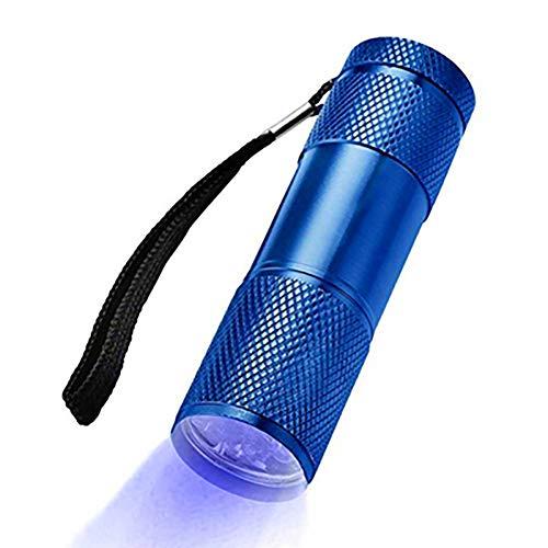 INEP LED-Taschenlampe, UV unsichtbare Tinte Markenerkennung Taschenlampe LED-Taschenlampe ultrahelle Hand Taschenlampe Tasche kompakte Größe