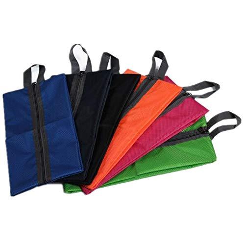Schuhtasche, Chickwin1PCS Set Wasserabweisend Schuhbeutel mit Zugband Wasserabweisend Schmutzabweisender Schuhsack Reise Trennung von Schuhen Kleidung Reisezubehör Shoe Boot Bag (Blau)