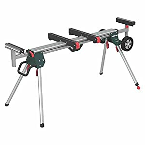 Metabo KSU401 Extending Mitre Saw Legstand - Green/Black/Silver
