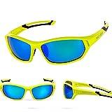 BAT FOX Gafas de Ciclismo Sol Hombre Mujer Polarizadas UV400 Protección Gafas Deportivas Pesca Ski Conducción Golf Salir A Correr Ciclismo Acampada Verde