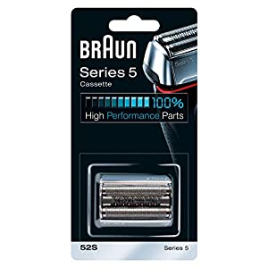 Braun 52S Replacement Foil and Cutter Cassette Multi Silver BLS Combi Pack