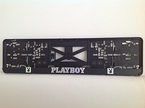 playboy-2xechte-3d-effekt-kennzeichenhalter-nummernschildhalter