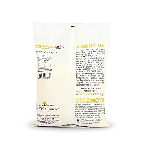 Buy Whole Foods Online Organic Coconut Desiccated, 1 Kg