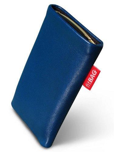 fitBAG Beat Royalblau Handytasche Tasche aus Echtleder Nappa mit Microfaserinnenfutter für Sony Ericsson W580 W580i W580 Crystal