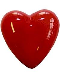 mit Knopfzel blinkend Herz-Brosche Schmuckzubehör