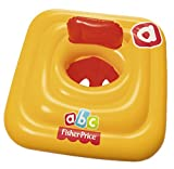 Best-way Fisher-Price® Swim Safe Baby Support Step A, Schwimmsitz, 69x69 cm, Gelb