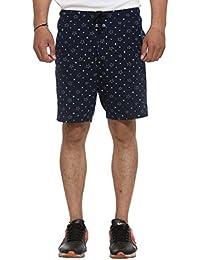 VIMAL Men's Cotton & Crush Short (D11-Prt-No.1-P)