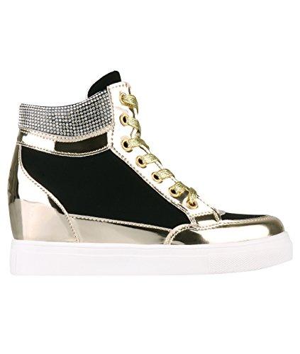 5590-BLK-5 (Zapatillas Mujer Moda)