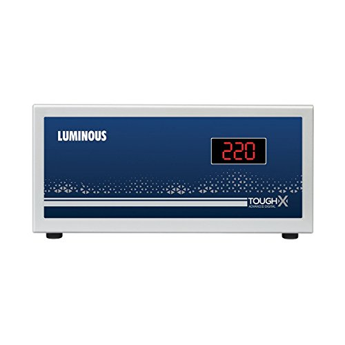 Luminous ToughX TT90D1 90V Voltage Stabilizer Suitable for TV+DTH (Grey)