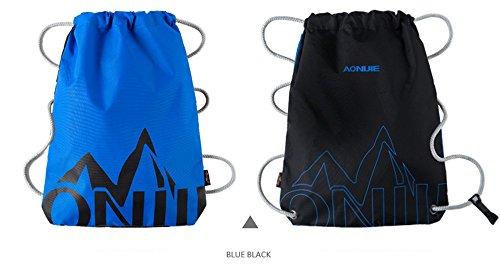 Imagen de aonijie   de cordones para niños impermeable, para la escuela o el gimnasio, para deporte, nadar, danza, zapatos , blue&black alternativa