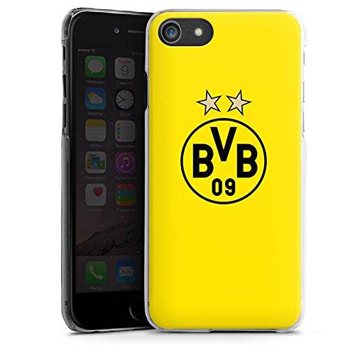Apple iPhone 7 Hülle Premium Case Cover BVB Borussia Dortmund Sterne Hard Case transparent