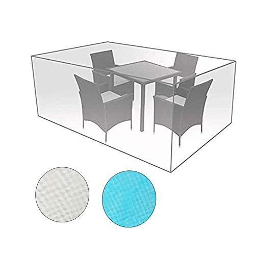 Zwysl copertura protettiva for giardino da esterno dimensioni personalizzabili all'aperto impermeabile for tavolo e sedia tavolino caffè equipaggiamento meccanico telone protettivo
