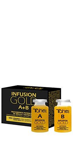 Tahe  12073151- Infusion Gold Tratamiento Capilar Potenciador de Brillo y...