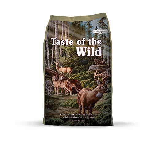 Taste of The Wild goût du Sauvage Forêt de Pins avec Venison et légumes Nourriture pour Chien,