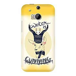 DailyObjects Winter Is Cunning Mobile Case For Htc One M8