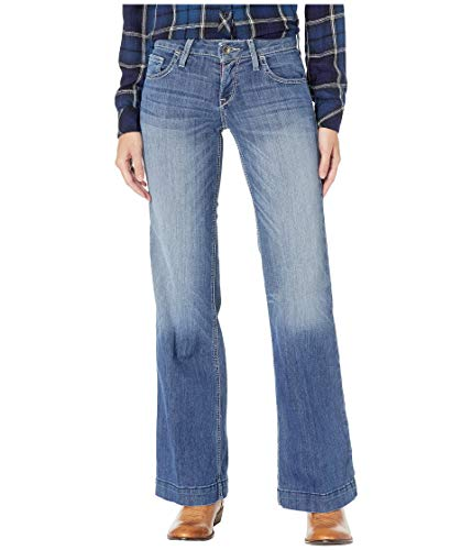 Ariat ' Womens Short (Ariat Women's Trouser Jean, Bonnie Stitch, 27 Short)