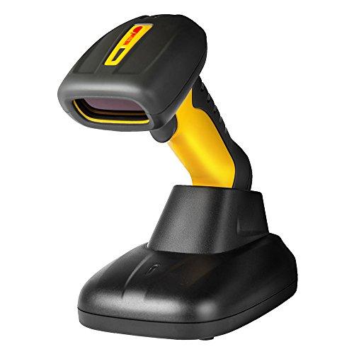 NETUM® Drahtloser Bluetooth Barcode-scanner Wireless IP67 wasserdicht CCD Barcodeleser mit Laser-Engine, 1D, Windows, Linux, Android läuft mit Handy Tablet Laptop und PC NT-1203