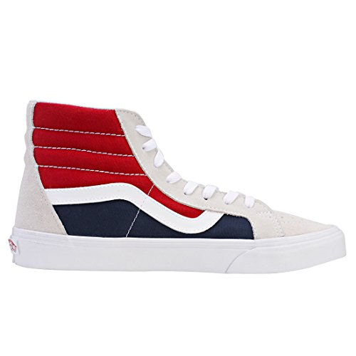Vans Sk8-hi Reissue, Sneakers Hautes Mixte Adulte Multicolore (Retro Block)