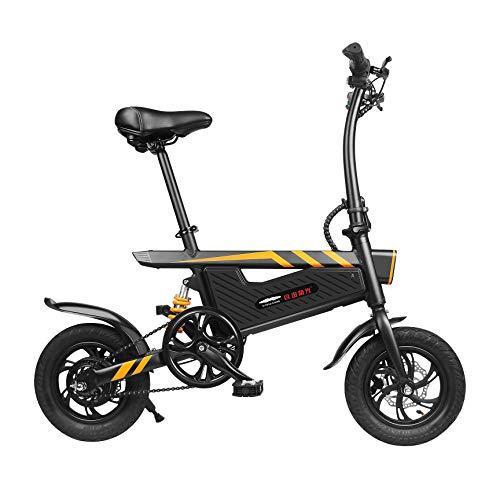 SummerRio 15,75 Zoll E-Bike Elektrofahrrad Mountainbike Elektro Fahrrad Verstellbares Sitzrohr Klapp