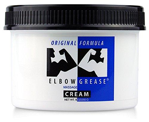 B. Cummings Elbow Grease Original - Gleitcreme auf Ölbasis für tiefgreifende Action - 255 g
