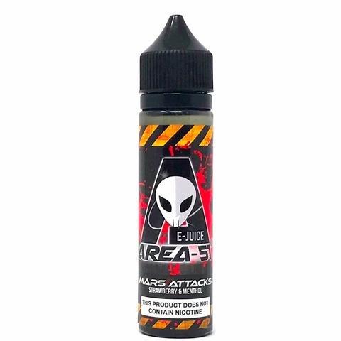 Preisvergleich Produktbild Area 51 60 ml e-Liquid Shake-and-Vape für Ihre e-Zigarette 0.0 mg Nikotin,  alle geschmack (Mars Attack)
