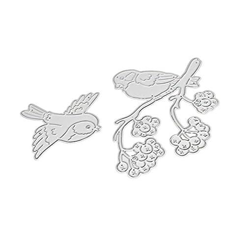 Malloom® Frohe Weihnachten Metall Schneiden stirbt Schablonen Scrapbooking Prägung DIY Handwerk (O)