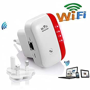300m Wifi Range Extender Booster Amplifier Wifi Repeater 2.4ghz Wireless Network Extender Hotspot With Wps Button Repeater Access Point Modes Complies With 802.11bgn With Any Wifi Devices 0