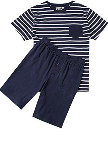 michaelax-fashion-trade-pigiama-due-pezzi-a-righe-maniche-corte-uomo-navy-499-xxxxl