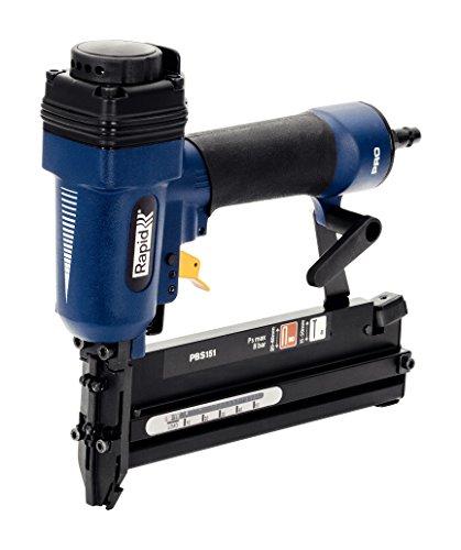 Rapid Drucklufttacker und -Nagler PBS151 für Innenausbau, für Klammern 20-40 mm und Nägel 15-50 mm