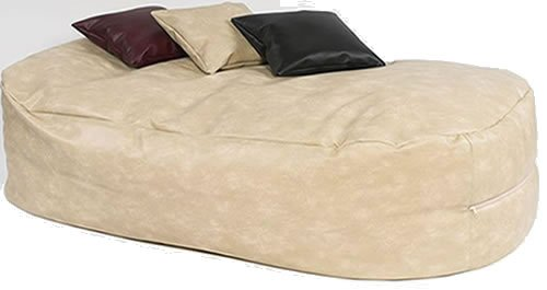 xxxx-l-6-ft-cream-faux-leather-beanbag-bed-bean-bag-sofa-bed