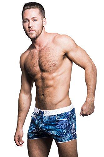 Andrew Christian - Short de bain - Homme Palm Print