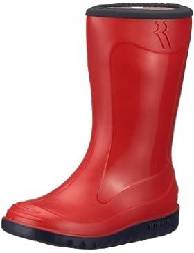 Romika Little Bunny 01001 - Botas de agua para niños, color rojo, talla 22