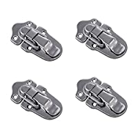 RZDEAL 4Pcs Luggage Suitcase Case Box Hasp Latch Toolbox Buckle Lock Flight Case Hasps Latches