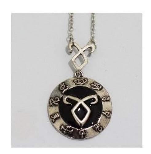 ts City of Bones inspiriert Angelic Power Rune Symbole Halskette ()