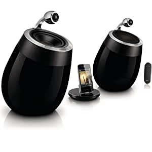 Philips DS9800W/10 Fidelio SoundSphere Docking Speakers for iPad/iPhone/iPod with AirPlay