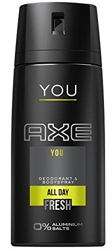 Axe Deospray YOU ohne Aluminium 150 ml, 3er Pack (3 x 150 ml)
