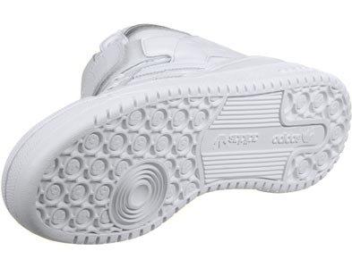 adidas Forum Mid Refined, Scarpe da Basket Uomo bianco (Ftwbla / Ftwbla / Plamet)