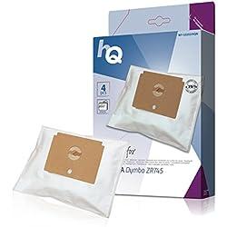 HQ W752253/HQN Sacs Aspirateur Compatible pour Rowenta Dymbo