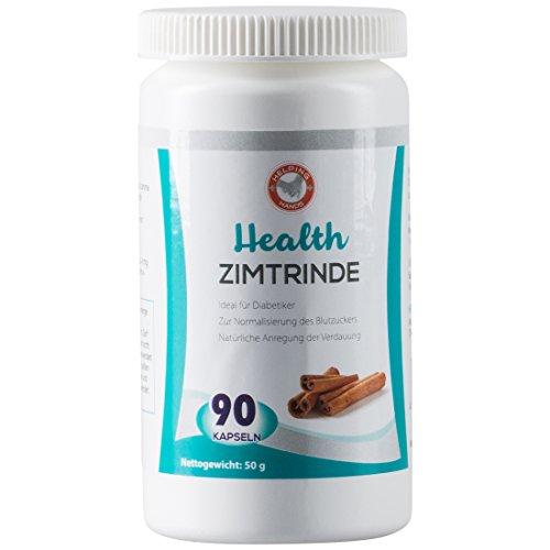 Helping Hands 90 Tabletten hochdosiertes Zimtrinde-Extrakt zur natürlichen Anregung der Verdauung, 50 g (Diabetiker Kapseln)