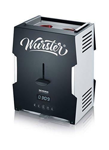 Severin Wurster – WT 5000, 2000 Watt, schwarz/silber