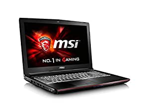 "MSI GE62 6QC Apache-644IT 9S7-16J532-644 Gaming Notebook, Processore i7-6700HQ, Display 15.6"" FHD, Scheda Video GTX 960M 2GB GDDR5, RAM DDR4 16GB, HDD 1TB 7200rpm"