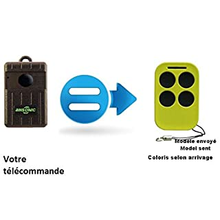 Fernbedienung Clone für ersetzen ANSONIC SA 4341Mini in 433,92MHz Garagentor Portal/Versand kostenlos/