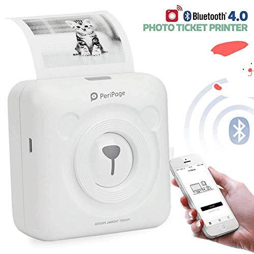 [Imprimante Multifonctions] Imprimante photo,Portable Imprimante thermique mobile,étiquette...