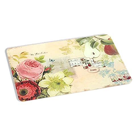 A Ting Large Tempered Glass Cutting Board Vintage Fruit 18