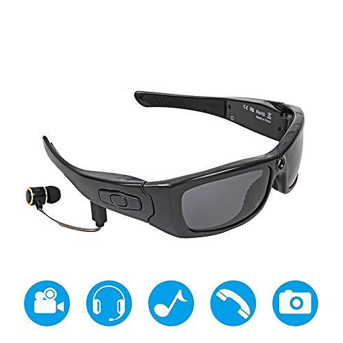 Sport-Sonnenbrillen Bluetooth-Sonnenbrille Leichtes Design Smart Ein-Tasten-Multifunktionsgerät mit kabellosen Stereo-MP3-Kopfhörern Polarisierte Brille Outdoor-Aktivitäten für Skifahren Golf Laufen R